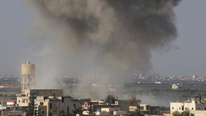 DEAŞ karşıtı koalisyon Deyrizor'da camiyi vurdu