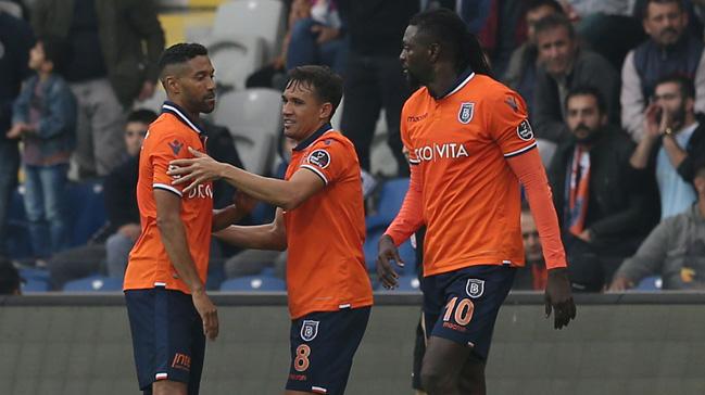 Medipol Başakşehir sahasında Kayserispor'u 1-0 mağlup etti