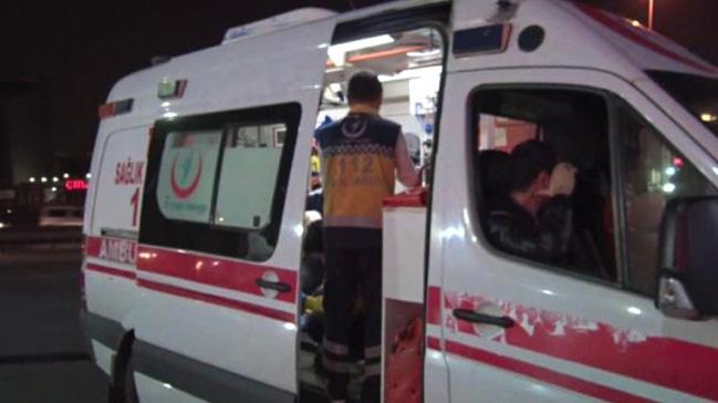 LPG dolumu yapılan otomobil bir anda alev aldı: 3 kişi yaralı
