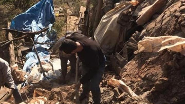 Kerpiç evde meydana gelen göçükte 1 kişi hayatını kaybetti