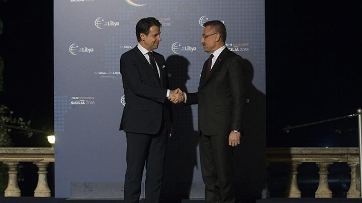 Cumhurbaşkanı Yardımcısı Oktay İtalya'da