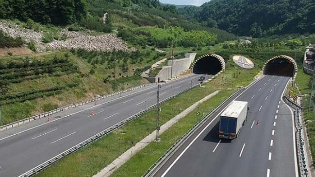 Bolu Dağı Tüneli'nin Ankara yönü viyadüklerde yapılacak yenileme çalışması nedeniyle ulaşıma kapanacak
