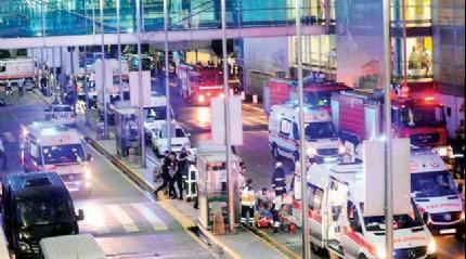 Havalimanı saldırganlarına 2 bin 604 yıl hapis