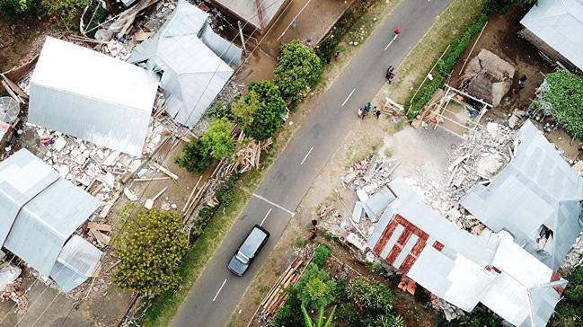Endonezya'da depremler nedeniyle oluşan heyelanlarda 7 kişi hayatını kaybetti