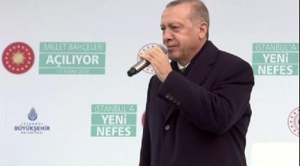 Başkanı Erdoğan: 'Hadi oradan önce haddini vereceksin