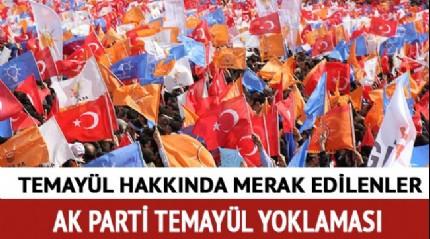 AK Parti temayül yoklaması sonuçları ne zaman açıklanır? Temayül yoklaması ne demek, nedir?