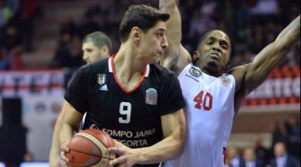 Gaziantep Basketbol evinde Beşiktaş Sompo Japan'ı 7 sayı farkla mağlup etti