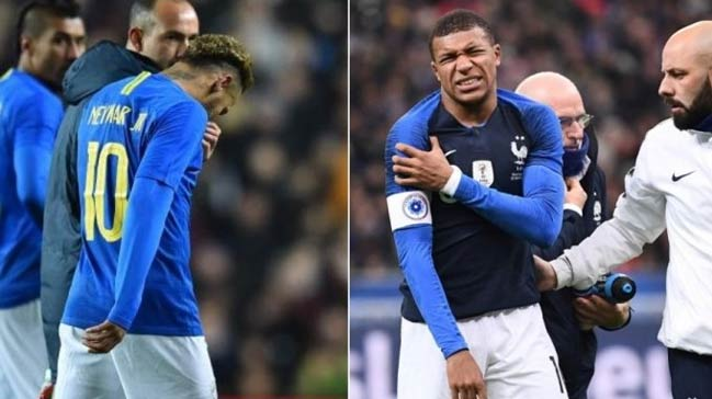 Paris Saint Germain'e Neymar ve Mbappe'den kötü haber