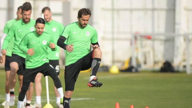 Atiker Konyaspor'da Galatasaray maçı hazırlıkları
