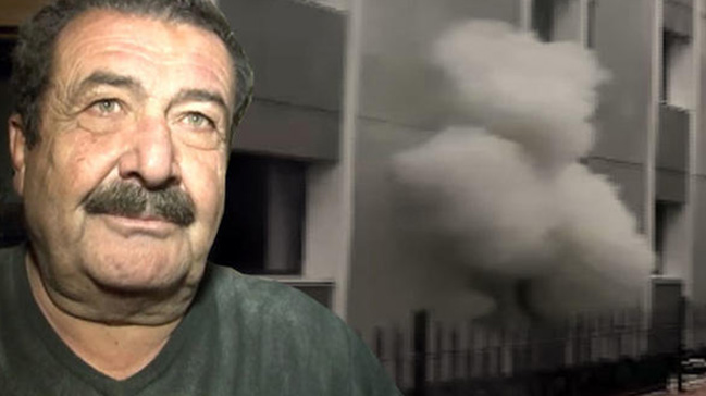 Tarık Papuççuoğlunun evinde yangın çıktı