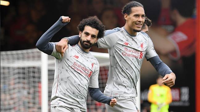 Ve Premier Lig'de zirve Liverpool'un