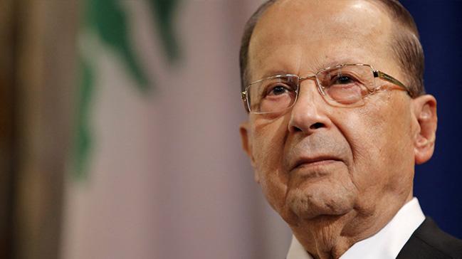 Lübnan Cumhurbaşkanı Mişel Avn, BM'ye 'istikrarı koruduklarını' belirtti