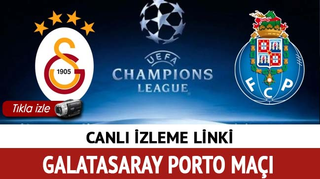 Galatasaray Porto maçı canlı izle! (GS) Galatasaray Porto maçı şifresiz canlı yayın izle Beinsports'ta