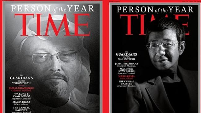 Time dergisi Kaşıkçıyı Yılın Kişisi seçti