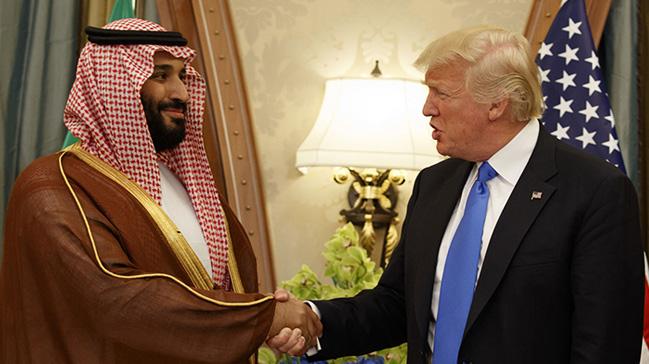 Trumptan Prens Selmana destek açıklaması