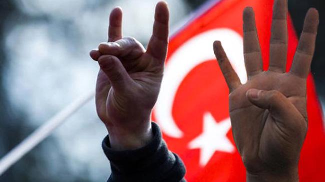 Avusturya'da Rabia ve Bozkurt sembollerinin yasaklanmasına tepki gösterildi