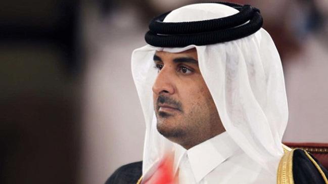 Katar Emiri Al Sani, abisinin vefatı dolayısıyla Heniyye'ye başsağlığı diledi