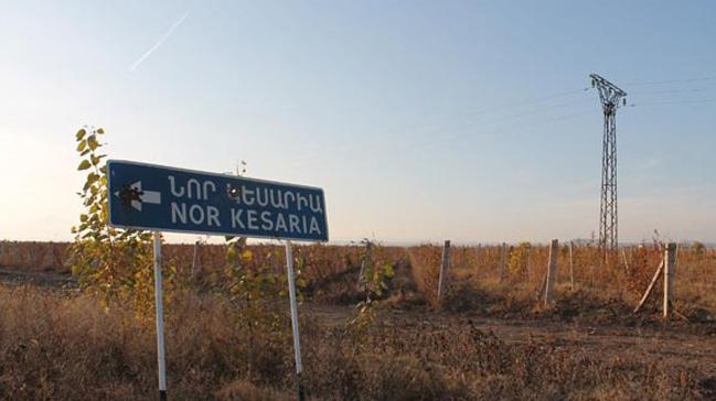 Ermenistan'da Kayseri köyü var ama içinde akıl sağlığını yitirmiş bir kişinin dışında Kayserili yok