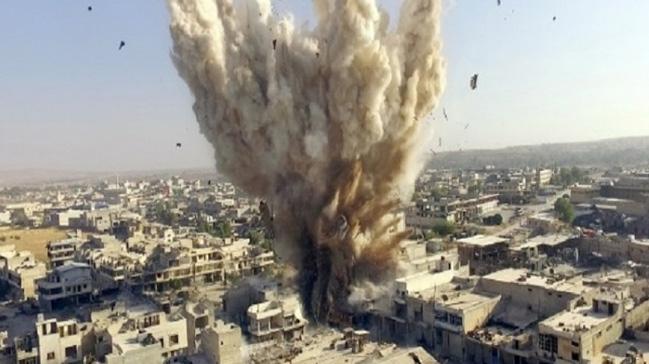 ABD öncülüğündeki Koalisyon'un Hajin'deki bir camiye saldırması sonucu 17 sivil hayatını kaybetti