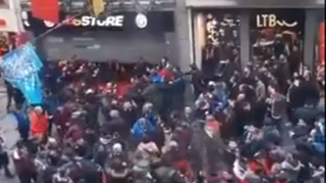 GS Store'a saldıran Trabzonspor taraftarlarına büyük tepki