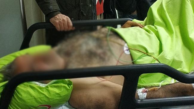 Samsun'da elektrik akımına kapılan işçi ölümden döndü