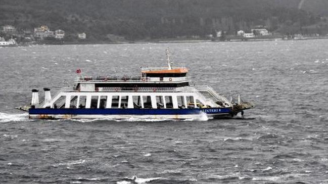 Bozcaada ve Gökçeada'ya yapılması planlanan bazı feribot seferleri iptal edildi