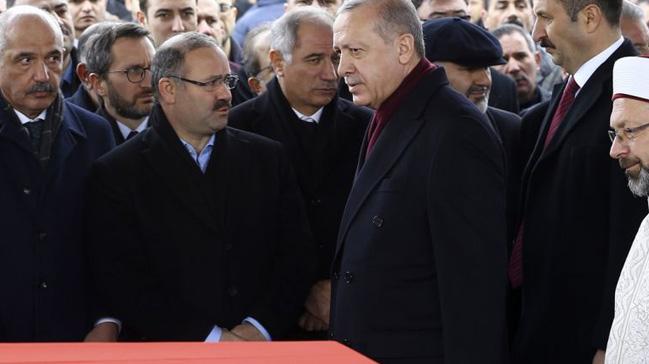 Başkan Erdoğan, eski milletvekili Aksak'ın cenazesine katıldı