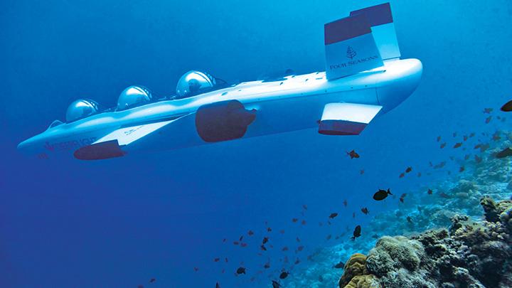Turizmde yeni moda denizaltı turu