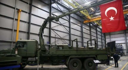 Yerli olarak üretildi! Milli hava savunma sisteminde kullanılacak