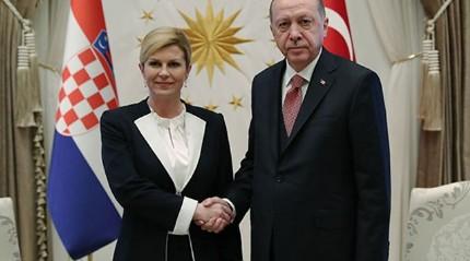 Başkan Erdoğan, Kitaroviç'i resmi tören ile karşıladı