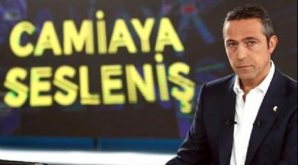 Ali Koç'tan canlı yayında transfer müjdesi