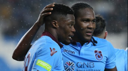 Trabzonspor sahasında Balıkesirspor'u 2-1 mağlup etti