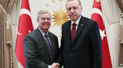Başkan Erdoğan'ın ABD'li senatör Graham ile görüşmesi sona erdi