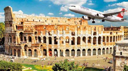 Ankara-Roma uçuşu başladı, ABD ve Uzakdoğu da yolda