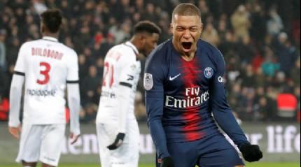 PSG sahasında Guingamp'ı 9-0 mağlup etti
