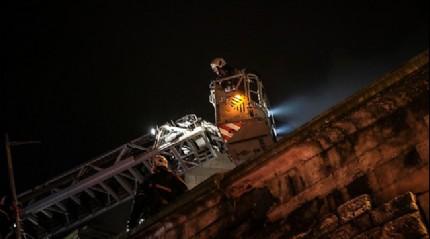 İstanbul Fatih'te yangın: 1 ölü