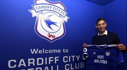Emiliano Sala resmen Cardiff City'de
