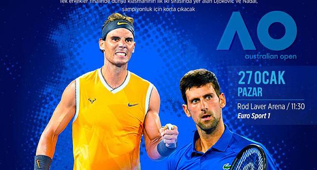 Avustralya Açık'ta final heyecanı