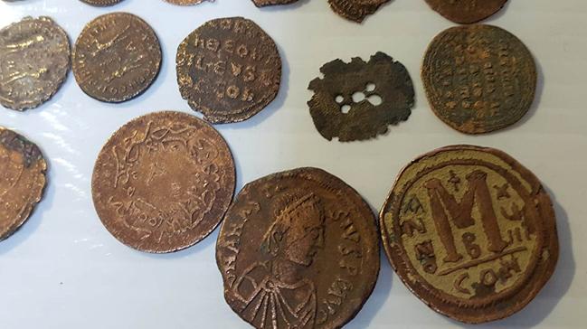 Burdur Haberleri: Burdurda Bizans dönemi 610 sikke ele geçirildi 65