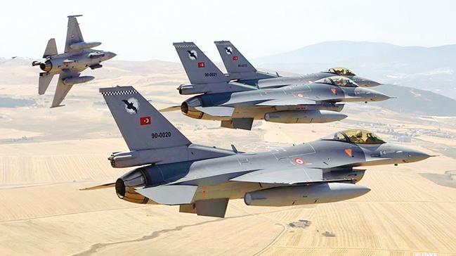 F-16'ları füzelerekarşı koruyacak'milli kalkan' hazır