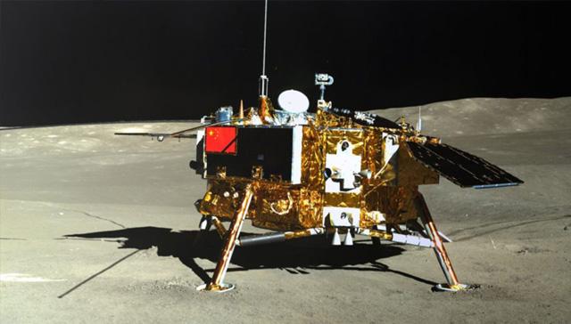 NASA uydusu, Çin'in Ay'daki keşif aracını ilk defa görüntüledi