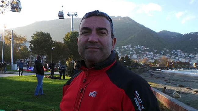 Paraşüt pilotu İlhan öldüğü yerde 4 yıl önce poz vermiş