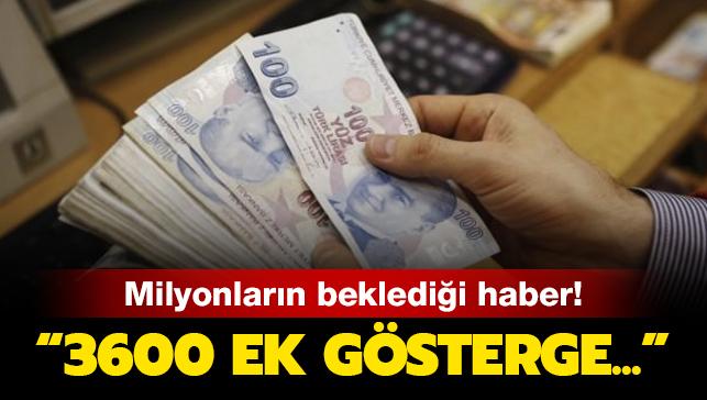 Son dakika... AK Parti: 3600 ek gösterge talebi takvim uygun olursa seçimden önce çıkarılacak