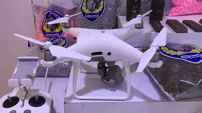 Drone'li hırsızlık şebekesi çökertildi