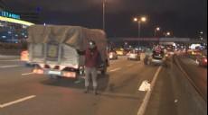 Son dakika - İstanbul trafiğinde şaşırtan görüntü