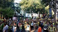 Son dakika - Fenerbahçe taraftarından protesto yürüyüşü