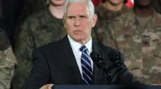 Son dakika - Son Dakika: ABD Başkan Yardımcısı Pence: Bu bir taktik değişikliğidir, hedef değişikliği değil