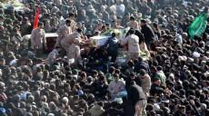 Son dakika - İran'daki saldırıda hayatını kaybeden 27 Devrim Muhafızları Ordusu askeri için tören düzenlendi