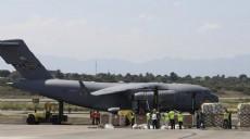 Son dakika - Guaido'nun çağrısı sonrası ABD askeri nakliye uçakları Kolombiya'ya indi
