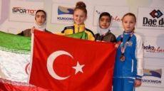 Son dakika - Selen Gündüz hem altın madalya kazandı hem de Türk bayrağını sonuna kadar açtı